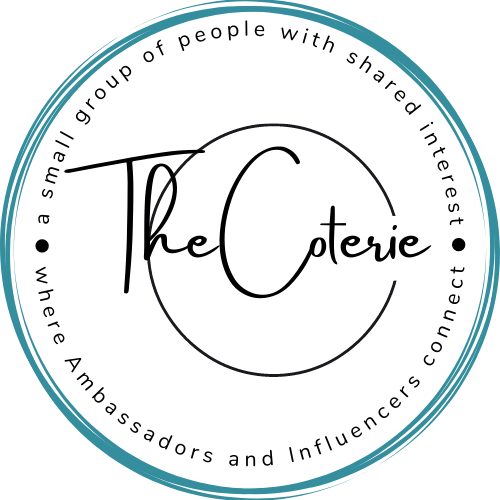 co·te·rie ˈkōdərē,ˌkōdəˈrē a small group of people with shared interests or tastes, especially one that is exclusive of other people. a coterie of friends and advisers Similar clique set circle inner circle crowd in- (6)